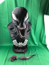 Sideshow Venom Life-Size Bust Spiderman World Limited 500 (DAMAGE STATUE)