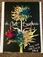 The Avett Brothers Concert Poster Belly Up Tavern 5/10/09 Solana Beach CA #29/60