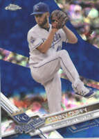 DANNY DUFFY 2017 TOPPS CHROME SAPPHIRE EDITION #634 ONLY 250 MADE
