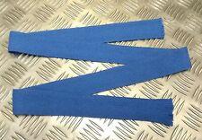 Genuine Military Issue Dress Wool Necktie Mid Blue SD Worsted Uniform Tie - NEW