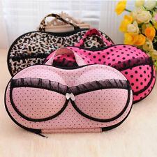 Portable Underwear Bra Storage Bag Case Zipped Holder Organizer Box For Travel