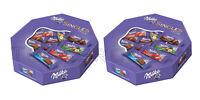 2 x MILKA Singles Chocolate Candy Assorted Mix Mini Chocolate Bars 138g 4.9oz