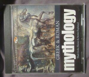 CD ROM  - Greek And Roman Mythology (EDUCATIONAL)