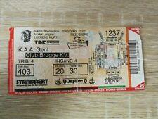 Ticket :  KAA Gent - Club Brugge 23.02.2003