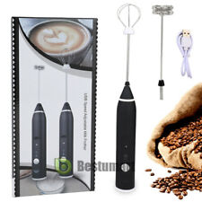 Milk Electric Frother Cordless Coffee Foamer Hand Blender Mixer Produkt +2 Whisk