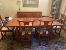 DREXEL HERITAGE Dining Room Set Table Chairs Buffet