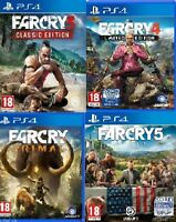PS4 Far Cry PS4 MINT - Same Day Dispatch via Super Fast Deliver