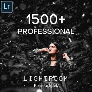1500+ Professional presets Lightroom Pack - Fast Delivery - Grab now