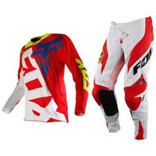 Fox Racing 360 Shiv Platinum Off Road MX Gear Set Red White 2XLarge / 38
