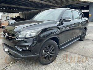 SsangYong Musso / Musso XLV Dual Double Cab 4 DOORS Side Steps 2019 -2021 Raptor