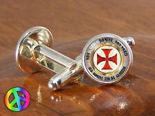 Freemason Masonic Vintage Mens Silver Antique Wedding Shirt Cuff Links Cufflinks