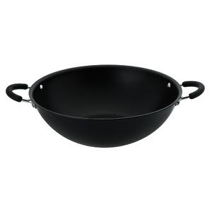RACO Contemporary 36cm Wok Stirfry Induction Black Non Stick Aluminium Cookware