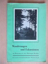 Bauer/Heim.Wanderungen und Exkursionen im Hauptmassiv des Thüringer Waldes