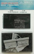 AIRES 1/48 P-40E Warhawk COCKPIT SET FOR HASEGAWA KIT # 4268