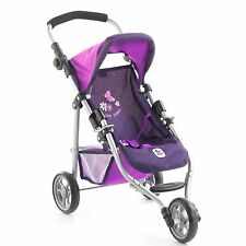 Bayer Chic 2000 Puppen Jogging-Buggy Lola Pflaume TOP