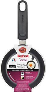 Tefal Ideal Mini One Egg Wonder Non-Stick Frying Pan, Black