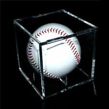 Acrylic Baseball Box Display Holder Golf Tennis Ball Transparent Case Souvenir