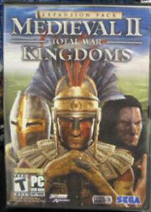 Medieval II Total War Kingdoms Expansion PC Game Factory Sealed US Retail Box