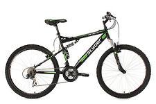 Mountainbike Fully 26 Zoll MTB 21-Gang Slyder Schwarz RH 51 cm KS Cycling 521M