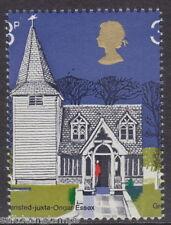 GREAT BRITAIN -  1972 3p. Village Churches Misperf Variety UM / MNH