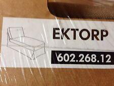 Ikea-Bezug,OVP, für Ikea Recamiere Ektorp, Vellinge Beige , Neu