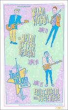 BRIAN WILSON BRIAN SETZER 1999 Philadelphia Original Concert Poster Signed