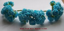 FOAM ROSES 36x SMALL FOAM ROSES Wedding~Cakes~Craft~Decoration~Cards~Scrapbook