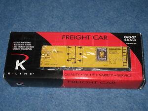 2000 K-Line K642-9012 Ted Maurer Auctioneer Express Wood-Sided Reefer L2130