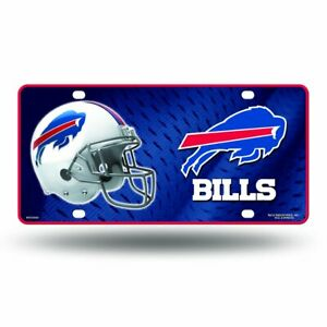 NFL BUFFALO BILLS LICENSE PLATE CAR TAG NEW