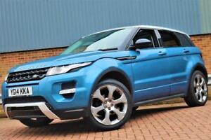 Range Rover Evoque Dynamic Lux spec