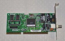 D-LINK DE-250 10 MBPS 1X RJ-45/BNC PORT COMBO ISA NIC NETWORK INTERFACE CARD