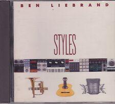 Ben Liebrand-Styles cd album