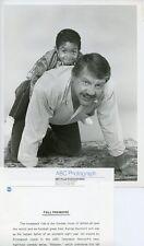 EMMANUEL LEWIS ALEX KARRAS SMILING PORTRAIT WEBSTER ORIGINAL 1983 ABC TV PHOTO