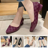 Womens Flat Pumps Ladies Ballet Ballerina Shoes Slip On Casual Dress Loafers