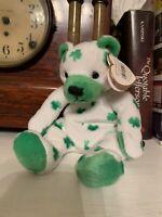 Beanie Baby Clover With Tags 2001 Ty Beanie Babies Plush Irish Shamrocks