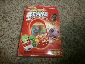 NEW Mighty Beanz Trading Card Game Moon Quest Starter Deck Sealed