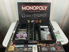 Game of Thrones Monopoly - Collector's Edition NOT COMPLETE