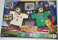 New in Box WORLD 10 IN 1 SOCCER TV GAME PLUG N PLAY MY ARCADE TWIN PACK