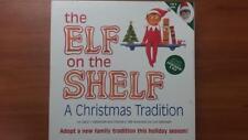 the Elf on the Shelf a Christmas Tradition Set Hardback Book & Elf Doll BOY NEW