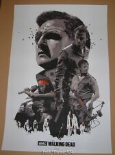 The Walking Dead Gabz Poster Print The Governor Daryl Dixon Rick Grimes Art
