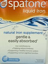 SpaTone™ Liquid Iron (28 Sachets) Immune Health Fights Fatigue EASY ABSORBE