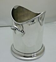 Antique Solid Silver Champagne Wine Soda Syphon Coaster Ice Bucket (1834/9/LWN)