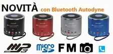 MINI SPEAKER WS-Q9 Bluetooth CASSA PORTATILE UNIVERSALE AUDIO RADIO LETTORE MP3