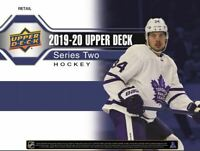 2019 2020 Upper Deck SERIES 2 Hockey NHL Sealed TIN 1 TIN + FREE NHL EARBUDS