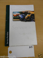 MGF Assistance Service Warranty  Book as Pictured  book A5