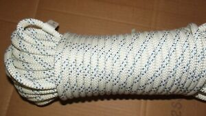 """NEW 3/8"""" (9.5mm) x 70' Kernmantle Static Line, Climbing Rope"""