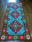 Picture Carpet - Handmade.sewn by hand - Antiques. 1940 - 1960. 107 - 45 sm.
