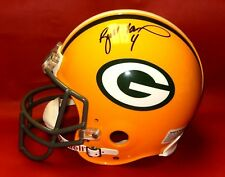 BRETT FAVRE AUTOGRAPHED GREEN BAY PACKERS FS PROLINE AUTHENTIC HELMET BF HOLO MM