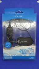FMtalk™ FM Transmitter Stereo Connection iPod/iPhone/MP3 and Hands-Free Kit