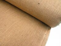 Natural Luxury Quality Upholstery Hessian Fabric Craft 140 Cms Wide Wedding